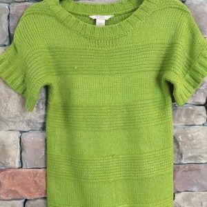 Arizona green sweater dress/tunic